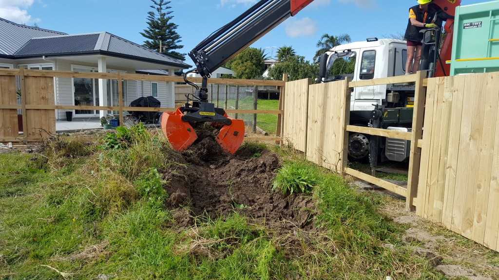 Pickup Delivery Soil Over Fence